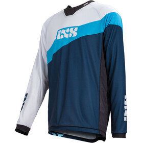 IXS Race 7.1 DH Longsleeve Jersey Men light blue/night blue